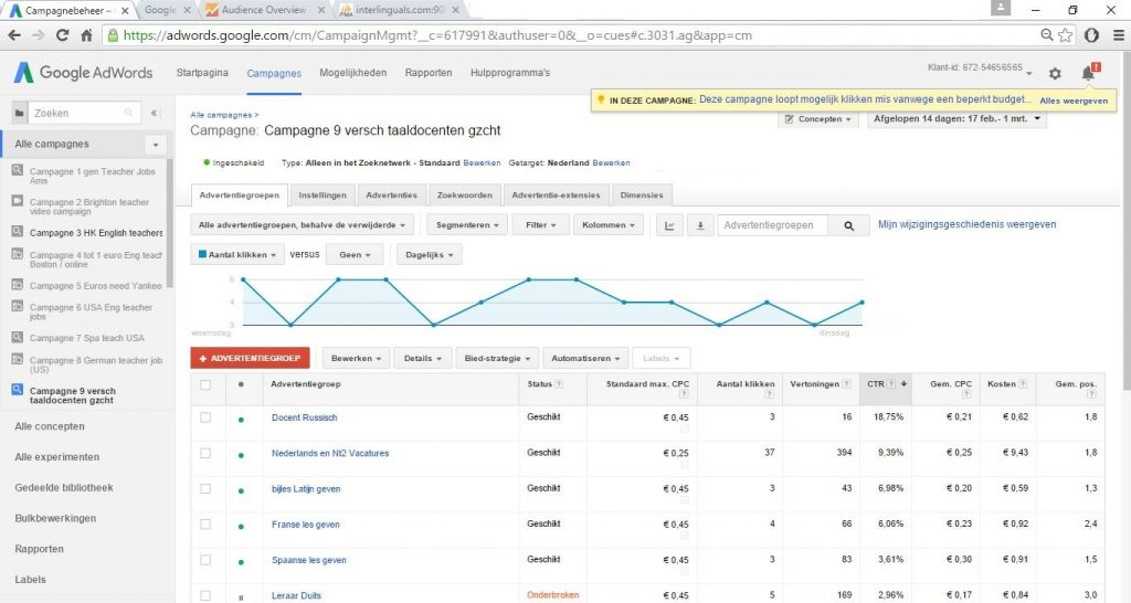AdWords-Campaign-9-language-teachers-in-Dutch